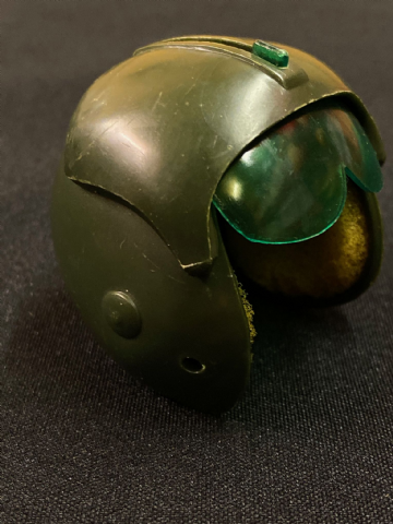 VINTAGE ACTION MAN  - Late Issue 7th Cavalry Herlicopter Pilot Helmet.